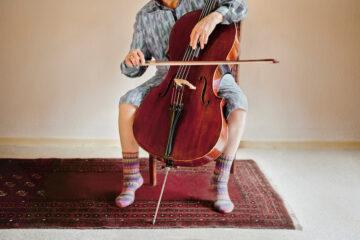 Cello wohnzimmer